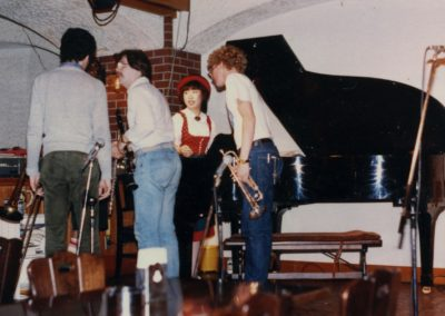 Larry in Jam Session in Japanese bar